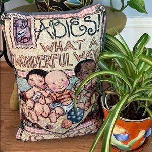 Vintage Baby Pillow- Mary Engelbreit